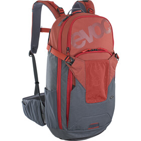 EVOC Neo Protector Backpack 16l chili red/carbon grey